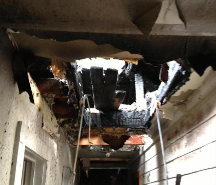 Fire Damage - Clarksville Home Before