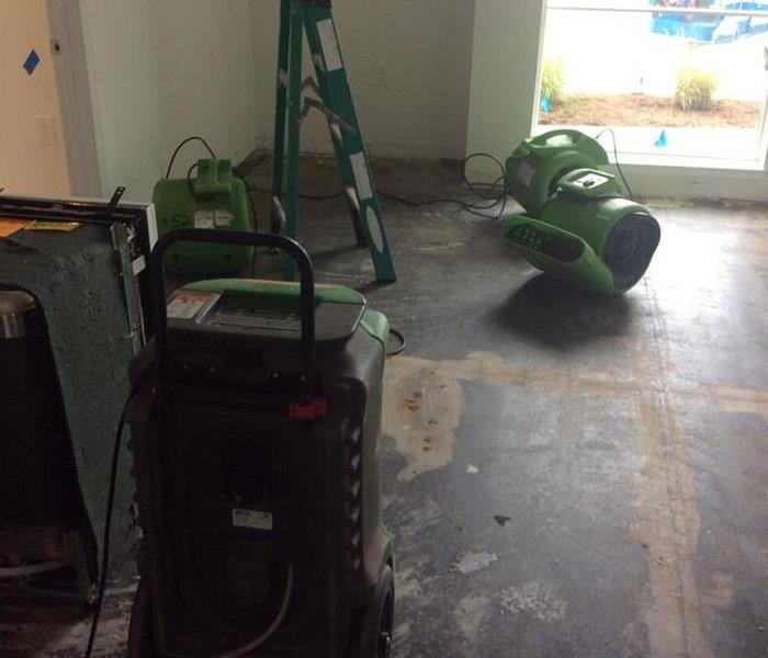 Sprinkler Leak in New APSU Apartment Complex After