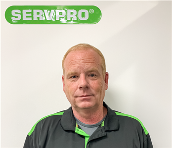 Male employee Keith for SERVPRO photo in uniform