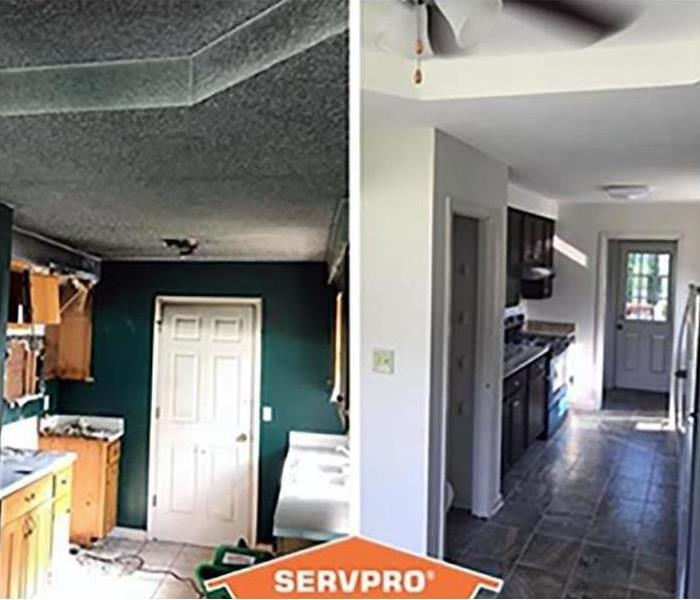 Before and After of Smoke Damage Restoration